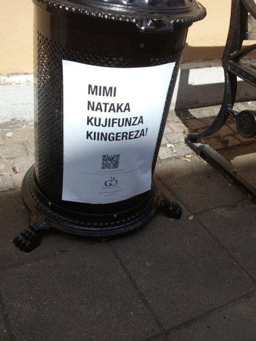 give opportunity Tanzania volontär engelska lärare nzega tazengwa jönköping philip hördegård jennifer edlund